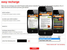 Recharge Portal Development Services India